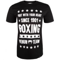 T-shirt Venum Boxing Origin - Nero