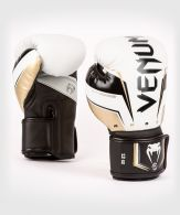 Venum Elite Evo Boxhandschuhe - Weiß/Gold