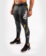 Mallas largas ONE FC Impact - Gris/Amarillo