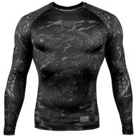 Venum Dragon's Flight Rashguard - Long Sleeves - Black/Black