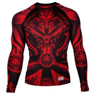 Rashguard Venum Gladiator 3.0 Red Devil - Manches longues