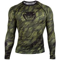 Venum Tecmo Rashguard - Long Sleeves - Khaki