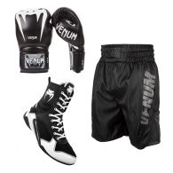 Boxing Pack Leather Black