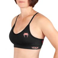 Venum Tecmo Sport Bra - For Women - Black/Pink