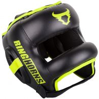 Ringhorns Nitro Headgear-Black/Neo Yellow