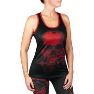 Venum Santa Muerte 3.0 Tank Top - For Women - Black/Red