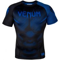 Venum NoGi 2.0 Rashguard - Short Sleeves - Black/Blue