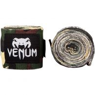 Fasce da boxe Venum Kontact - 2,5 m - Camo Foresta