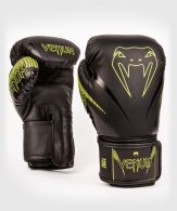 Venum Impact Boxing Gloves - Black/Neo Yellow