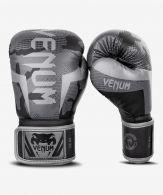Guantes de boxeo Venum Elite - Negro/Camo Obscuro