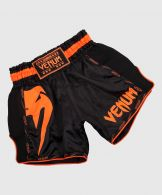Venum Giant Muay Thai Shorts - Black/Neo Orange