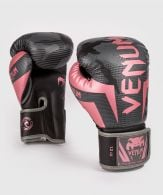 Gants de boxe Venum Elite - Noir/Or rose
