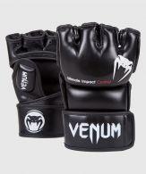 Venum Impact MMA Handschuhe - Skintex-Leder - Schwarz