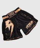 Pantaloncini da Muay Thai Venum Giant - Nero/Oro