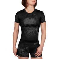 Venum Santa Muerte 3.0 Rashguard - Short Sleeves - For Women - Black/Black