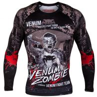 Venum Zombie Return Rashguard - Long Sleeves - Black