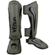 Espinilleras Venum Elite Standup - Caqui/Negro