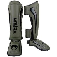 Venum Elite Standup Scheenbeschermers - kaki/zwart