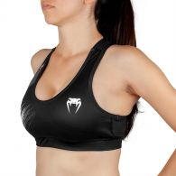 Venum Rapid 2.0 Sport Bra - For Women - Black/White