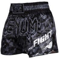 Pantalones Cortos de Muay Thai Venum Tecmo - Gris Oscuro
