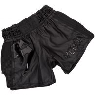 Venum Giant Muay Thai Shorts - Black/Black