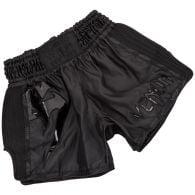 Pantalones Cortos de Muay Thai Venum Giant - Negro/Negro