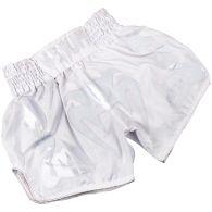 Venum Bangkok Inferno Muay Thai Shorts - White/White