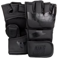 Ringhorns Charger MMA Gloves - Black/Black