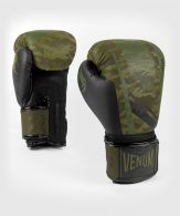 Bokshandschoenen Venum Trooper - Boscamouflage/Zwart