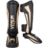 Venum Elite Standup Scheenbeschermers - zwart/goud
