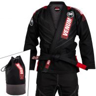 Venum Elite 2.0 BJJ Gi - (Bag Included) - Black