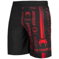 Venum Logos Training Shorts - Zwart/Rood
