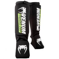 Venum Training Camp 2.0 Shin guards - Black/Neo Yellow