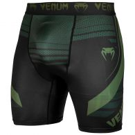 Venum Technical 2.0 Compression Shorts - Schwarz/Khaki