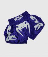 Pantaloncini da Muay Thai Venum Bangkok Inferno - Blu/Ghiaccio