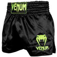 Short de Muay Thai Venum Classic - Noir/Jaune Fluo