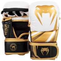 MMA HANDSCHUE SPARRING CHALLENGER 3.0 - Weiß/Schwarz/Gold
