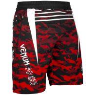 Pantalones cortos deportivos Venum Okinawa 2.0 - Black/White-Red