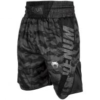 Pantaloncini da boxe Venum Elite - Camo/Neri