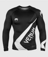 Venum Contender 4.0 Rashguard - Langarm - Schwarz/Grau-Weiß