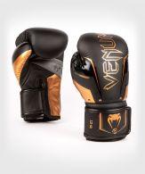Venum Elite Evo Boxhandschuhe - Schwarz/Bronze