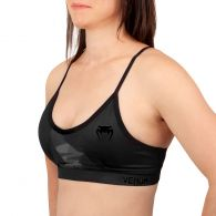 Venum Dune 2.0 Sport Bra - For Women - Black/Black