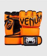 VENUM UNDISPUTED 2.0 MMA HANDSCHUHE - SKINTEX LEDER - NEO ORANGE