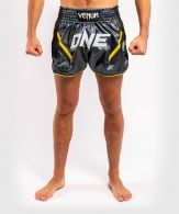 Pantaloncini da Muay Thai ONE FC Impact - Grigio/Nero
