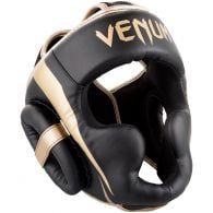 Venum Elite Headgear - Black/Gold