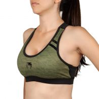 Venum Power 2.0 Sport Bra - For Women - Khaki/Black