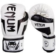 Guantes de Boxeo Venum Elite - Blanco/Negro
