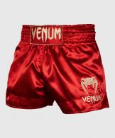 Venum Muay Thai Shorts Classic - Bordeauxrood/Goud