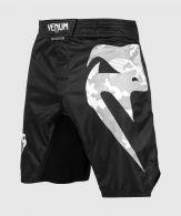 Pantalones MMA Venum Light 3.0 - Cortos - Negro/Blanco