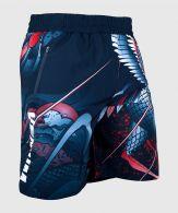 Pantalones cortos deportivos Venum Roster - Azul Marino/Naranja